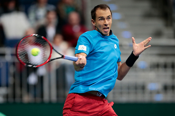 Rosol gets off to a good start | Photo courtesy of: Oliver Hardt/Getty Images