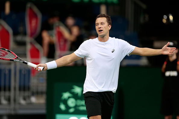 The German allows Rosol back into the game | Photo courtesy of: Oliver Hardt/Getty Images