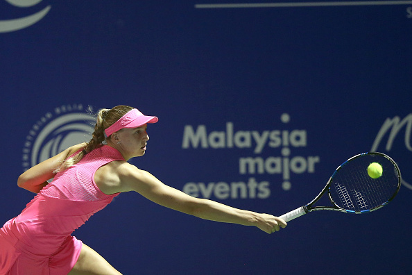 Broady has to fight till the end | Photo courtesy of: Stanley Chou/Getty Images