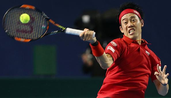 Nishikori hopes to make it seven straight against Kukushkin (Photo: Getty Images)