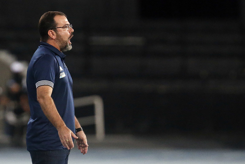 Enderson Moreira, técnico do Botafogo (Foto: Vitor Silva/Botafogo)