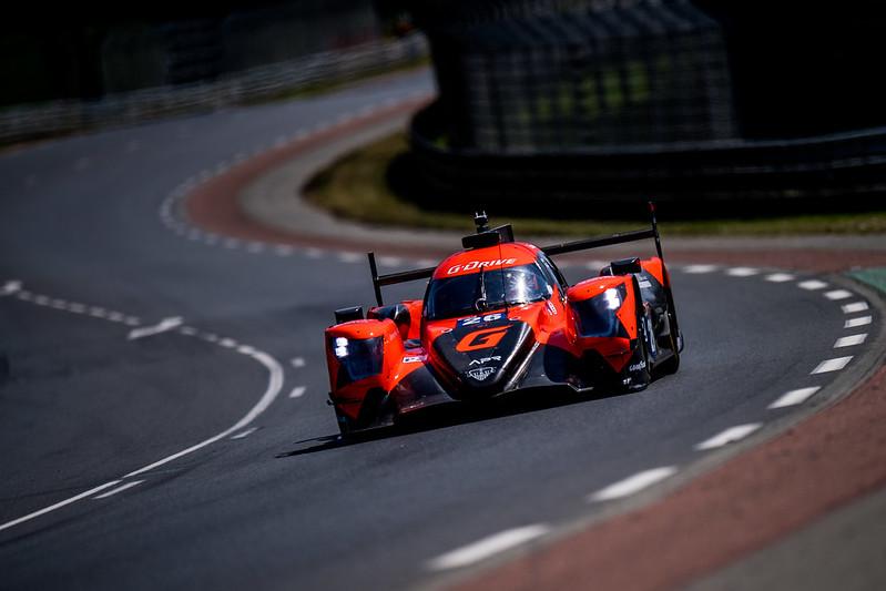 Colapinto arriba del LMP2 en los Test Day de Le Mans: Foto G-Driver Racing
