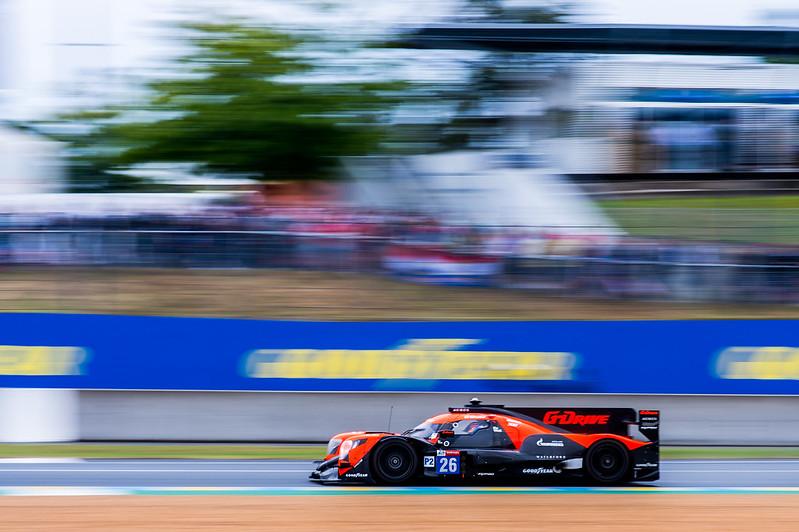 El LMP2 de Colapinto debutando en las 24H de Le Mans: Foto G-Driver Racing