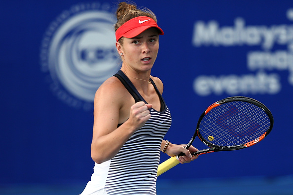 Svitolina levels the match | Photo courtesy of: Stanley Chou/Getty Images