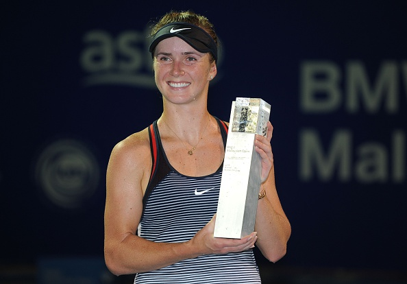 Elina Svitolina won her first title of 2016 at the BMW Malaysian Open after defeating Eugenie Bouchard in the final in a thrilling three-setter. Photo credit : Mohd Rasfan / Getty Images.