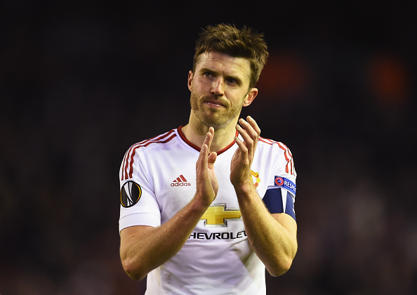 Carrick played as centre-back versus Liverpool (photo:getty)