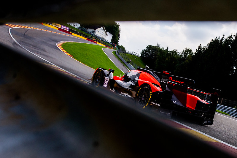 Colapinto en la subida de Eau rouge: Foto <strong><a href='https://vavel.com/ar/automovilismo/2021/08/23/1083361-historica-victoria-de-pechito-lopez-en-le-mans.html'>G-Driver Racing</a></strong>