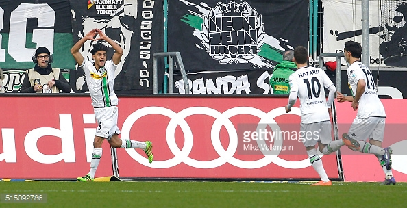 Dahoud celebrates scoring the hosts third goal the last time the two sides met | Photo: Getty Images