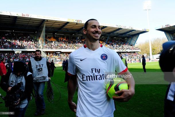 Ibrahimovic foi a estrela da partida