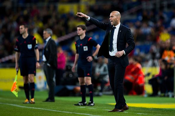 Em 14 partidas, Zidane tem um aproveitamento de 85,71%, e apenas uma derrota (Foto: Getty Images)