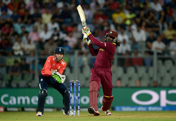 Chris Gayle blitzed England in the West Indies' opening game (photo:getty)