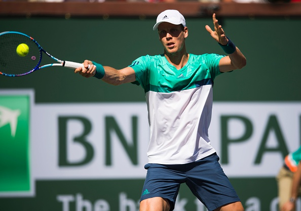 Berdych had chance to take the second set but falters | Photo courtesy of: Robyn Beck/Getty Images