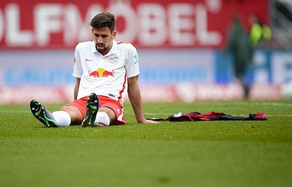 Rani Khedira's playing time looks set to take a hit at RB Leipzig this season. Could someone like St. Pauli offer him a way out? (Photo: Micha Will/Bongarts/Getty Images)