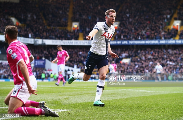 Kane nets yet another one against Bournemouth (Photo: Getty Images)