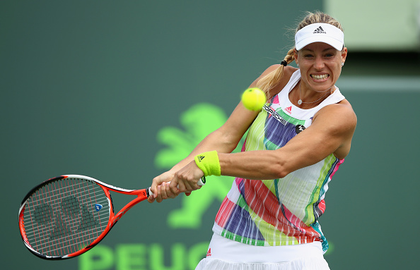 Kerber in trouble as she goes down a set and a break |  Photo: Clive Brunskill/Getty Images