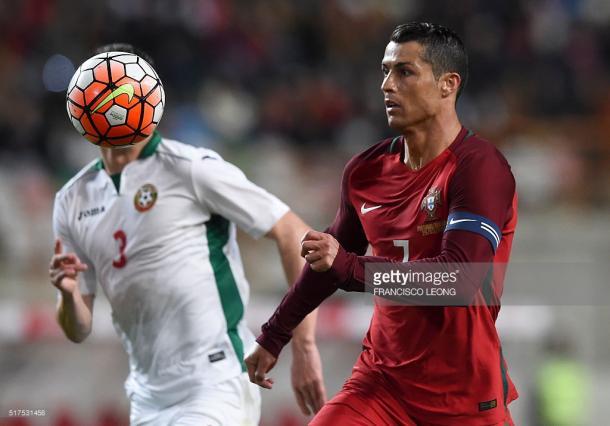 Cristiano Ronaldo, o rosto do desperdício luso