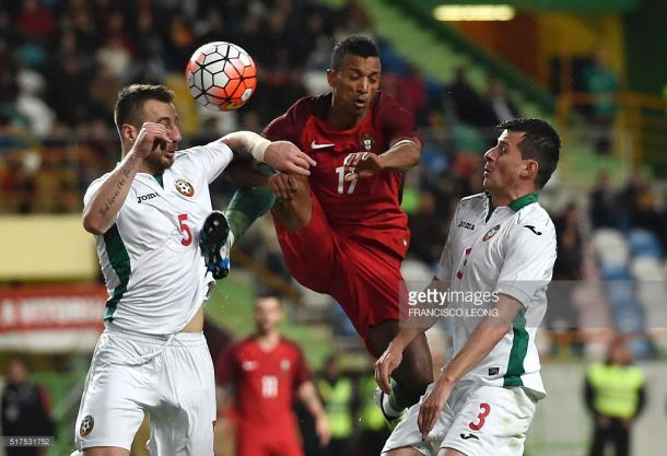 Desde cedo que a Bulgária conseguiu a vantagem no marcador