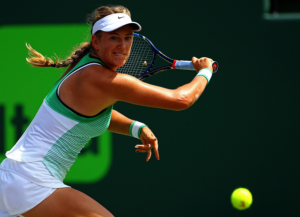 Azarenka herself is a very competitive player | Photo: Mike Ehrmann/Getty Images