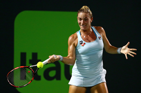Babos hung on to force a decider | Photo courtesy of: Mike Ehrmann/Getty Images