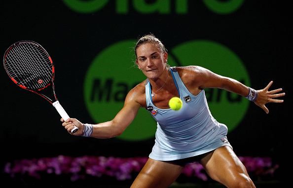Babos' coach's advice was working | Photo courtesy of: Mike Ehrmann/Getty Images