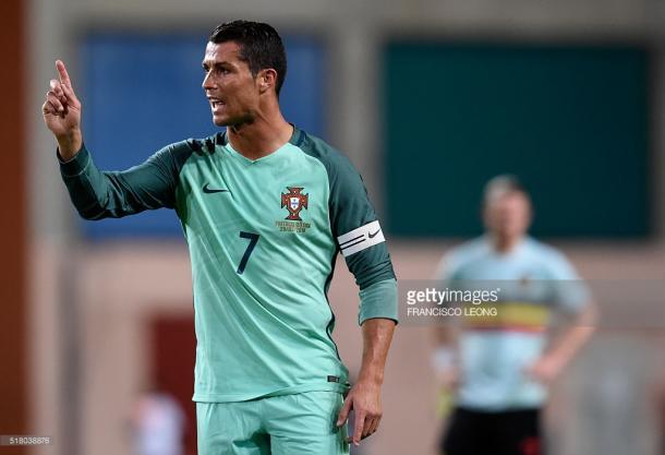 Cristiano Ronaldo soma 56 tentos em 125 internacionalizações