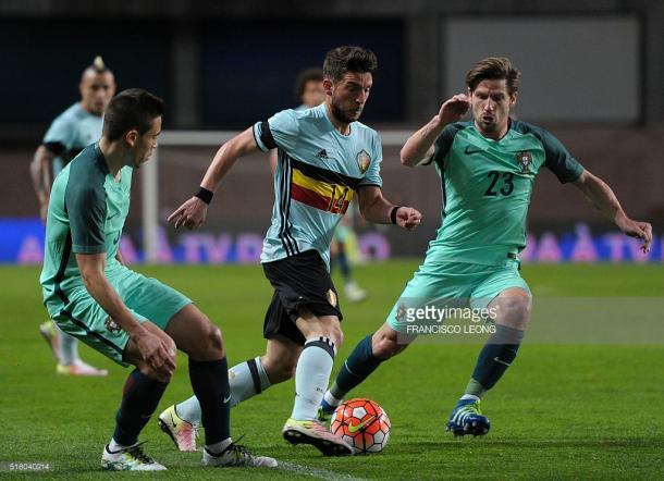 A Bélgica começou no domínio da partida