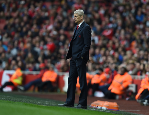 Wenger has come under increasing pressure this season. Photo: Getty Images