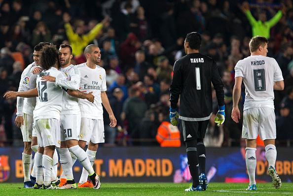 Real Madrid vira sobre Barcelona no Camp Nou e põe fogo no Campeonato Espanhol (Foto: Getty Images)