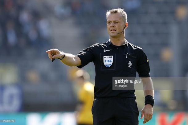 O holandês será o árbitro esta noite