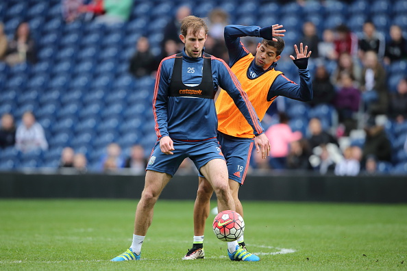 The perfect metaphor: Gamboa was always behind Craig Dawson in the pecking order (Photo: Getty)