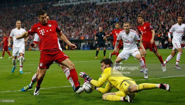 Ederson salvou os encarnados de um pior resultado em Munique