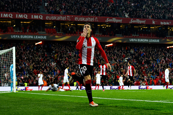 Aduriz celebrating | Photo: David Ramos/Getty Images