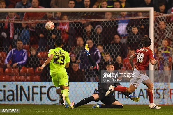 Lansbury has been a key player for Forest since joining in 2012. (picture: Getty Images / Shaun Botterill)