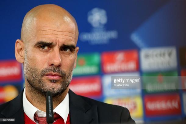 Pep diz que o Bayern está focado na partida desta noite.
