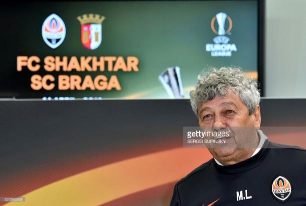 O técnico da equipa ucraniana sabe que a vantagem é curta