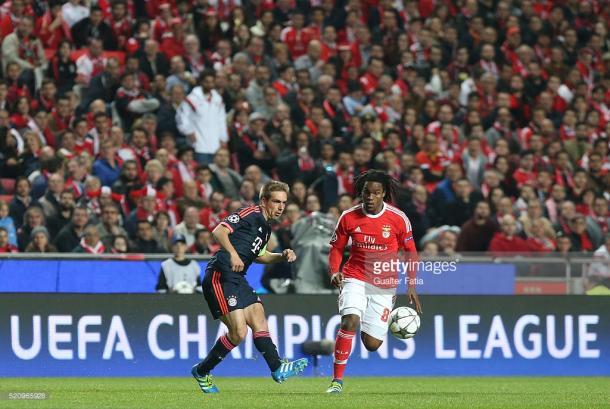 Renato Sanches foi titular nos dois jogos contra o Bayern