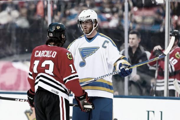 Daniel Carcillo ahora se hace fuerte fuera del hielo   Foto: Getty Images