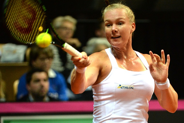 If Bertens continues with her big serves, it could be a problem for France | Photo: Jean-Francois Monier/Getty Images