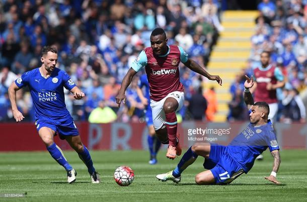 Leicester e West Ham defrontaram-se numa partida emocionante e com polémica