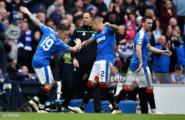 McKay has had a very successful time at Rangers. (picture: Getty Images / Jeff J Mitchell)