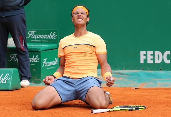 Nadal celebra título em Monte Carlo/ Foto: Jean Catuffe/ Getty Images
