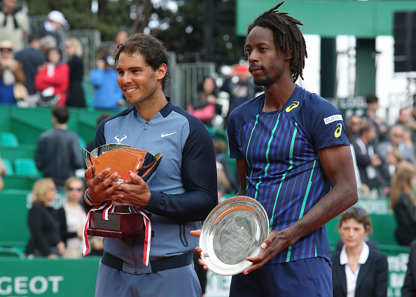 Nadal beat Gael Monfils in the Monte Carlos Masters final (photo:getty)
