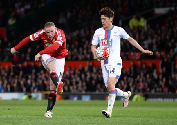 Rooney was very impressive against Palace in midfield | Photo: Getty Images