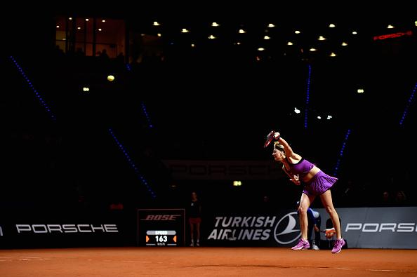 Kvitova's serve was at its utmost dominance in the decider. Photo credit: Dennis Grombkowski/Getty Images.