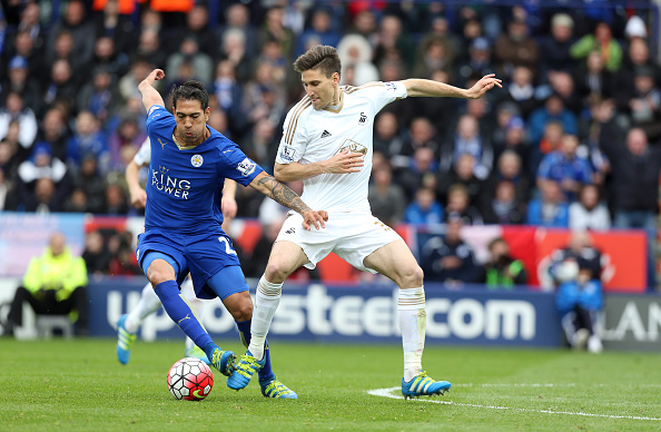 Swansea clash with the champions in just the third game of the season. (Photo: Plumb Images/Leicester City FC via Getty Images)