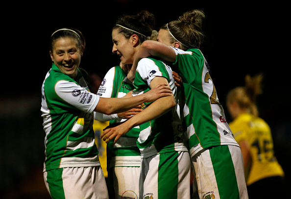 Will Yeovil be celebrating come the end of the season? (Photo: Julian Herbert -The FA/The FA via Getty Images)