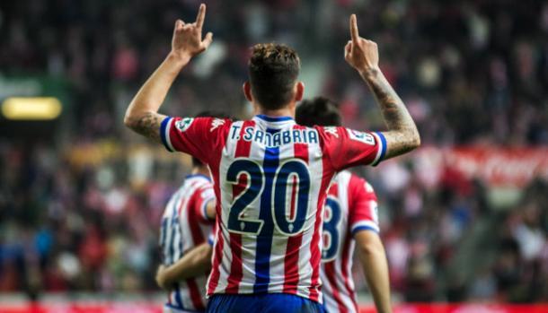 Sanabria spent last on loan at Sporting Gijon | Photo: golaverage.com