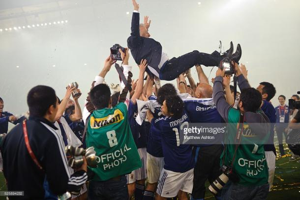 Japón campeona asiática en Catar 2011 | Foto: Getty Images