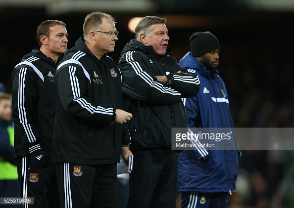McDonald worked with Sam Allardyce at West Ham (photo: Getty Images)