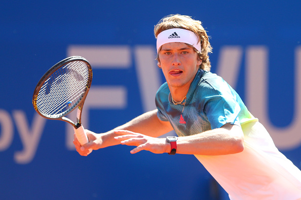 Zverev takes the lead in the opening set | Photo: Alexander Hassenstein/Getty Images